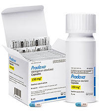 Pradaxa Medication Bottle