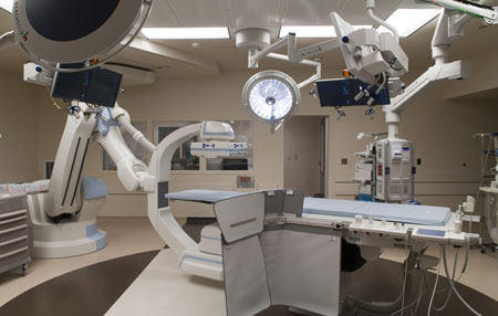 Princeton Baptist Medical Center Hybrid TAVR Operating Suite
