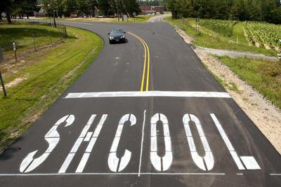 Typo Of School On Street