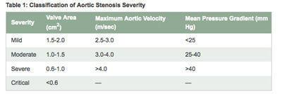 Guidelines - Diagnosing Aortic Stenosis