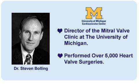 Dr. Steven Bolling, University Of Michigan