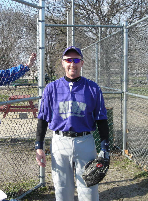 Kevin Hains - Heart Valve Surgery Patient Whe Enjoys Softball