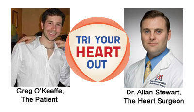Dr. Allan Stewart And Greg O'Keefe Try Their Hearts Out