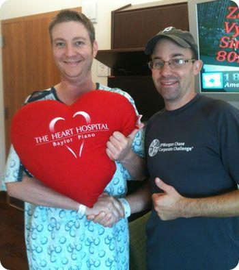 Trent & Tom, Patients, At The Heart Hosptial In Dallas, Texas