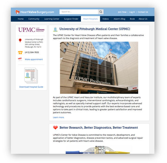 University of Pittsburgh Heart Valve Clinic