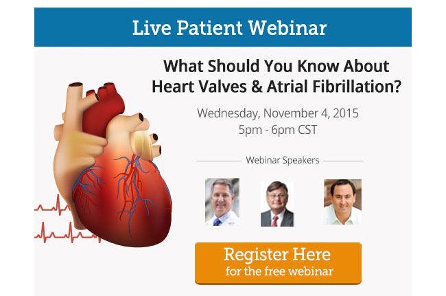 Heart Valve & Atrial Fibrillation Webinar