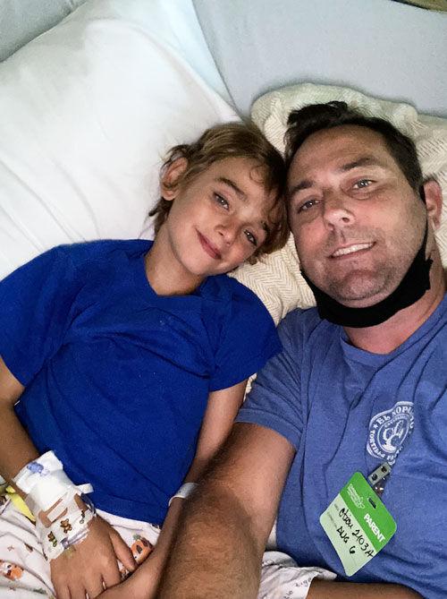 Joe & Grant Foster - Ross Procedure Patient