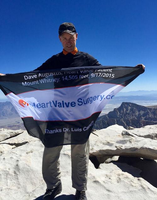 Dave Augustus - Heart valve patient