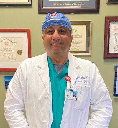 Dr. Junaid Khan - HeartValveSurgery.com Scrub Cap