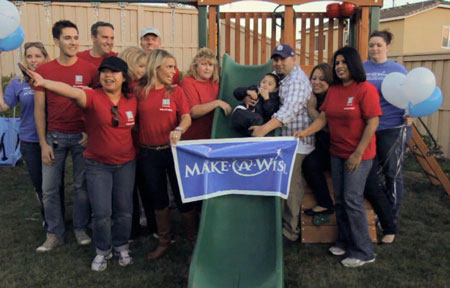 Make-A-Wish & Edwards Lifesciences Teams