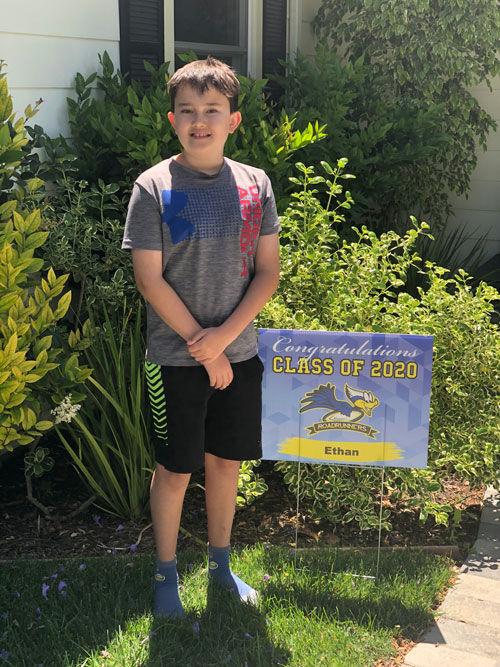 Ethan Pick Graduates Elementary School