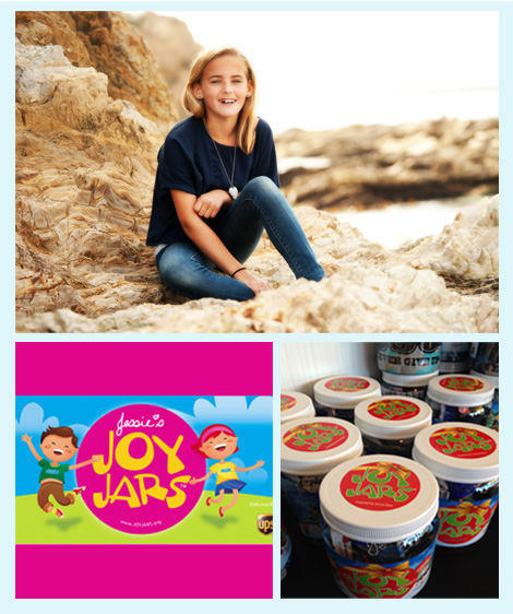 Jessie Rees and Her Joy Jars