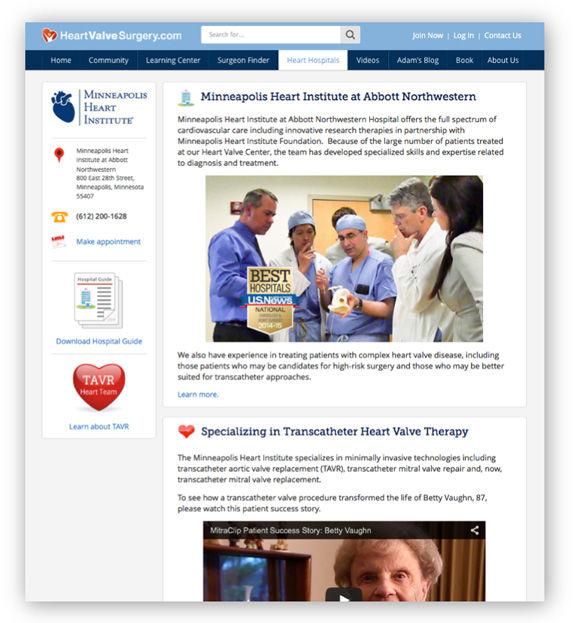 Minneapolis Heart Institute Heart Valve Center