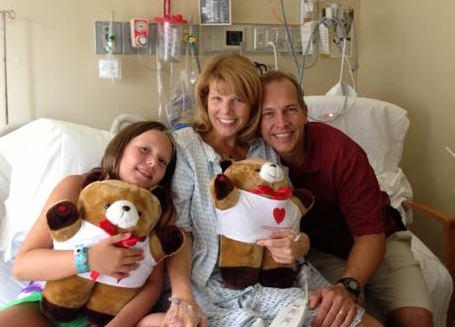 Patient Recovering From Heart Surgery
