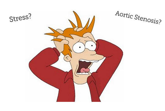 Stress Symptoms Aortic Stenosis