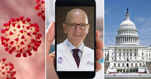 Telehealth Reform Request Showing Doctors & Congress