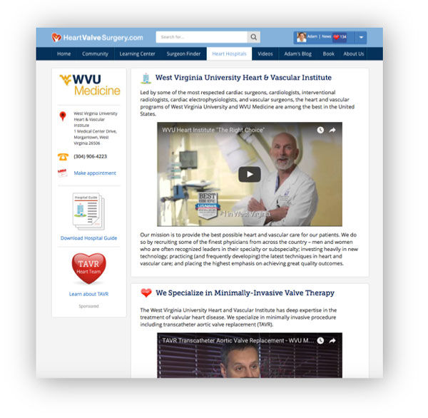 West Virginia Heart and Vascular institute