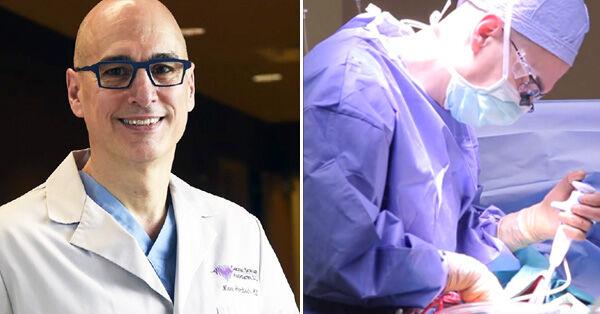 Dr. Marc Gerdsich Performing Maze Procedure