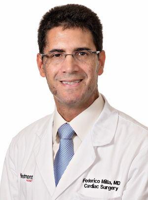 Dr. Federico Milla - Piedmont Heart Valve Specialist